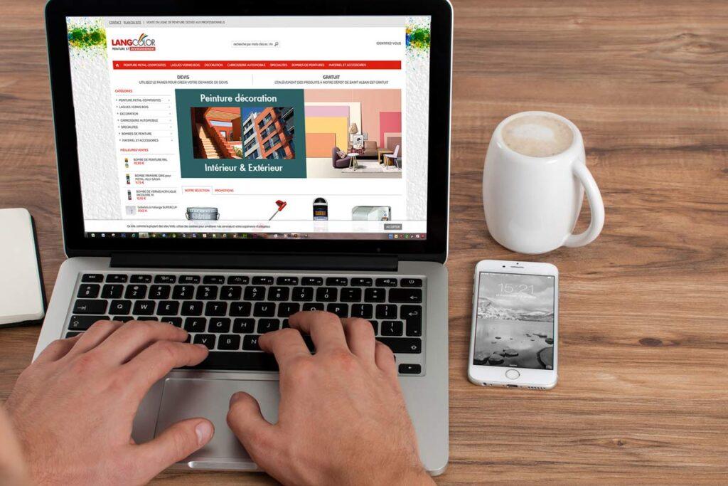 site internet pour l'industrie